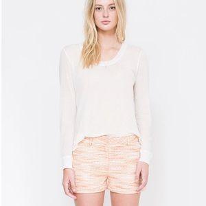 Quinn || Leslie Metallic Shorts